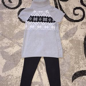 Other - Girls  sweater outfit with matching leggings!